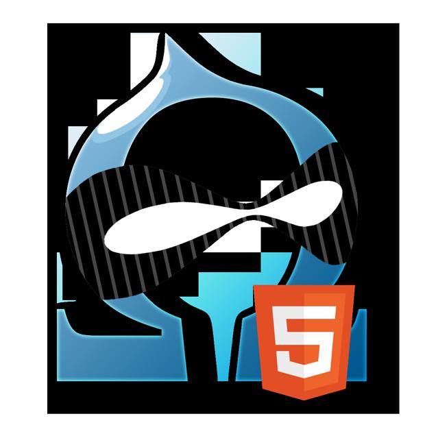 Omega HTML5 logo